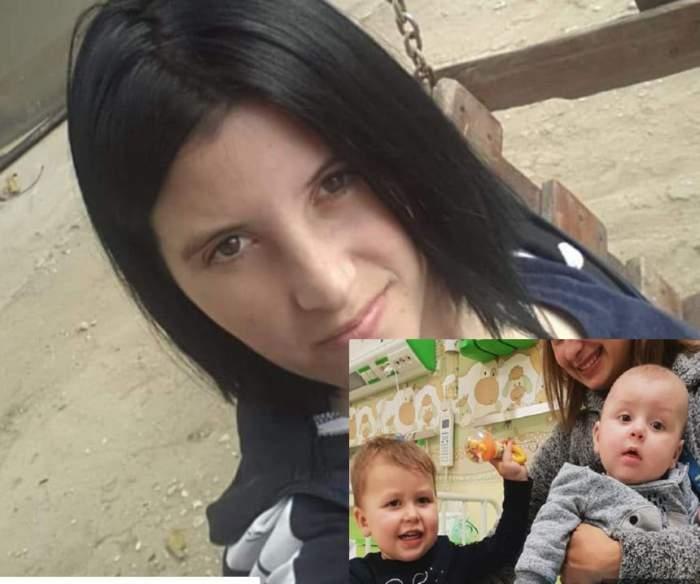 Mama care şi-a abandonat cei doi copii în faţa spitalului din Alexandria a apărut. Are 24 de ani şi îşi vrea băieţii înapoi