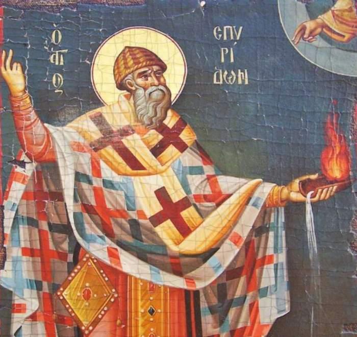Sfântul Spiridon, sărbătorit pe 12 decembrie. Cea mai puternică rugăciune pentru sănătatea ta şi a familiei tale
