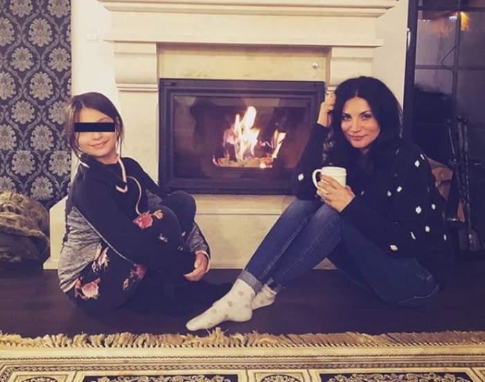 """Ioana Ginghină vorbeşte cu fiica ei de 10 ani despre sex. """"Mă gândesc cu groază"""""""