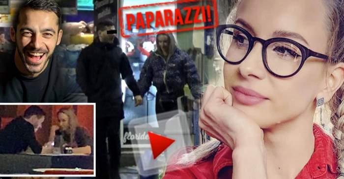 """VIDEO PAPARAZZI / Îl traduce pe Petrişor Ruge? Sandra Izbaşa, întâlnire suspectă cu un bărbat misterios! Răsfăţ şi multe zâmbete """"nevinovate"""""""