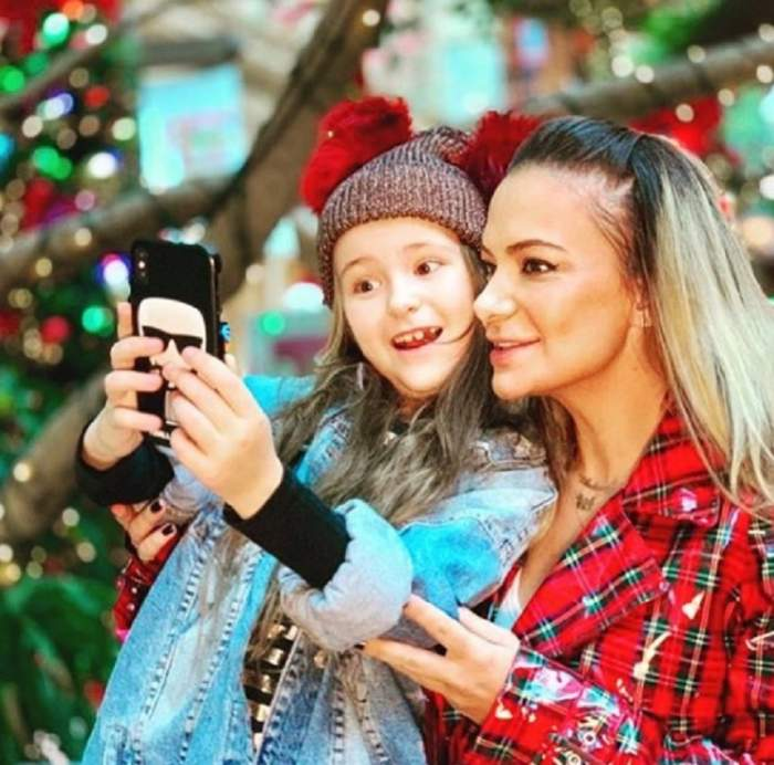 FOTO / Clipe emoţionante alături de fiica sa! Vezi cât este de fericită Andreea Antonescu