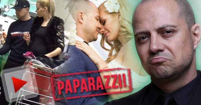 VIDEO PAPARAZZI / Dan Badea şi-a îndeplinit visul! Soţia actorului este însărcinată! Avem primele imagini cu graviduţa