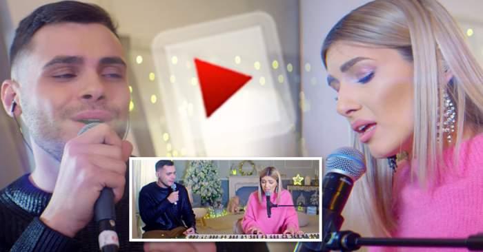 VIDEO / Alina și Mircea Eremia, duet de excepție în prag de sărbători! Le-au oferit fanilor o surpriză muzicală