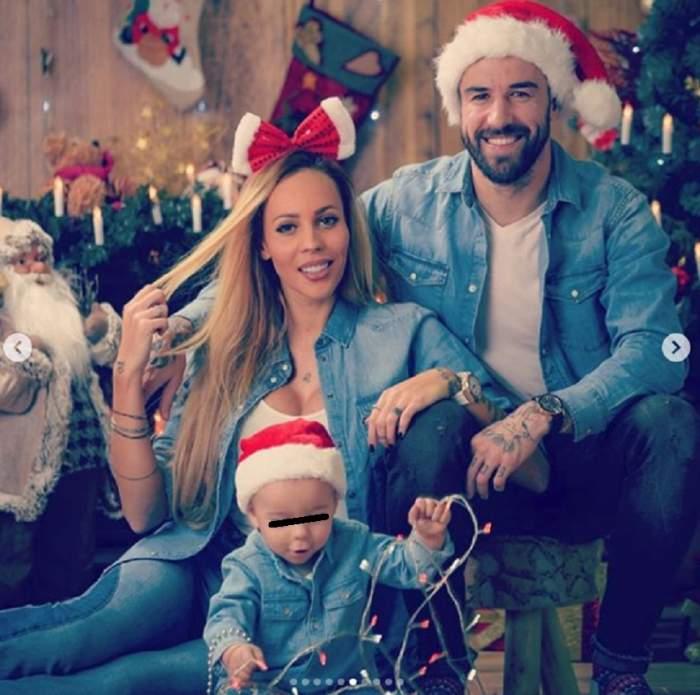 FOTO / Gabi Enache şi Lena, mai fericiţi ca niciodată! Şedinţă foto de neuitat cu familia lor