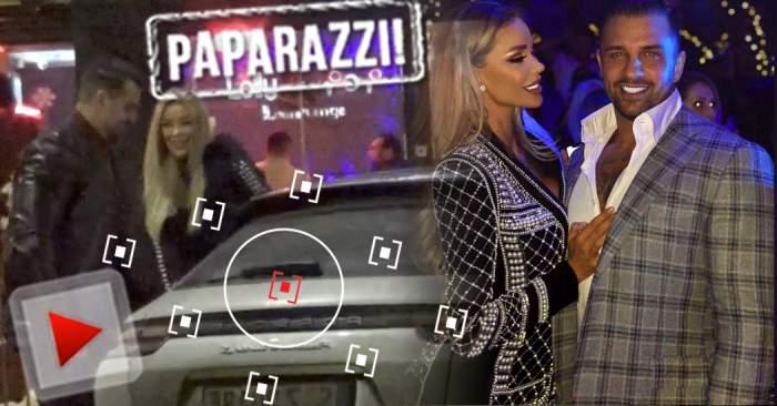 VIDEO PAPARAZZI / Primele imagini cu Bianca Drăguşanu şi Alex Bodi, după ce s-a spus că a înşelat-o! S-au întâlnit azi-noapte