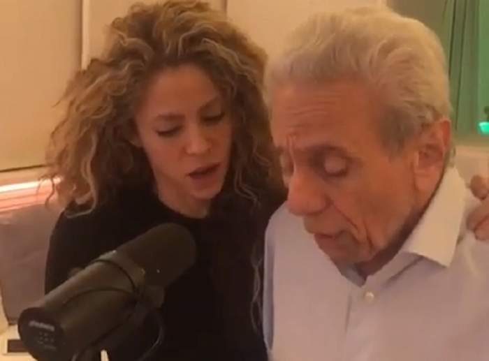 VIDEO / Ipostază rară cu Shakira și tatăl ei. Vedeta le-a făcut o surpriză de proporții fanilor, de sărbători