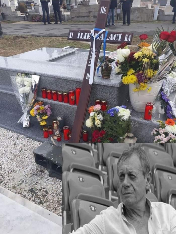 Mormântul lui Ilie Balaci a fost vandalizat. ''Cum săfii tolerant cu un astfel de om?''