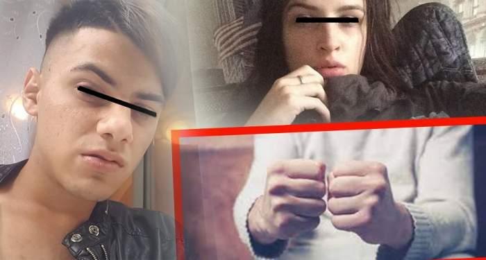 """EXCLUSIV / Ce i-au făcut doi puşcăriaşi """"şmecherului"""" care şi-a torturat iubita şi a filmat-o plină de sânge!"""