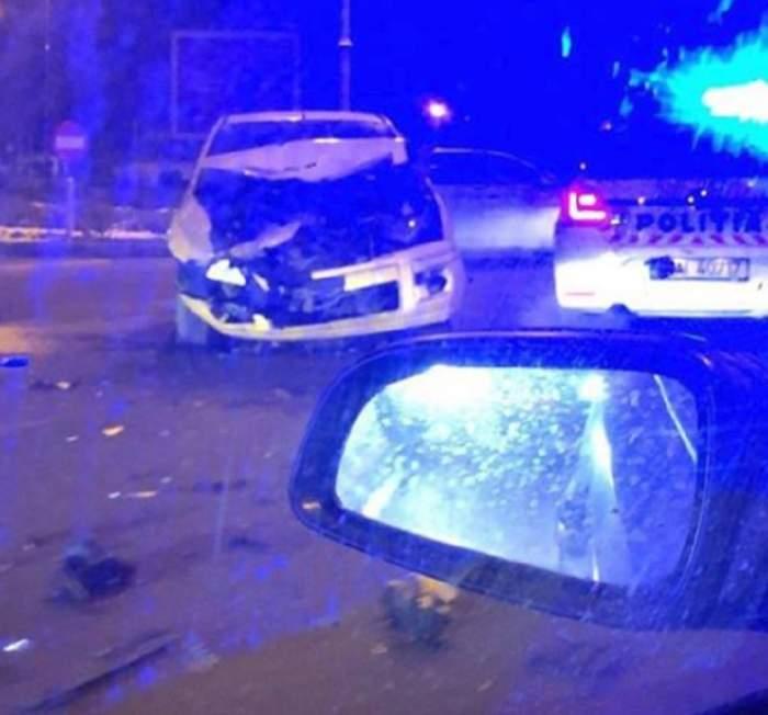 Accident grav pe bulevardul Aviatorilor din Capitală! Două mașini s-au făcut praf