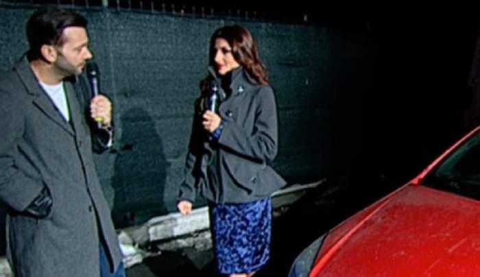 VIDEO / Asistenta lui Morar a pățit-o din nou! Mașina Elenei Marin a fost vandalizată