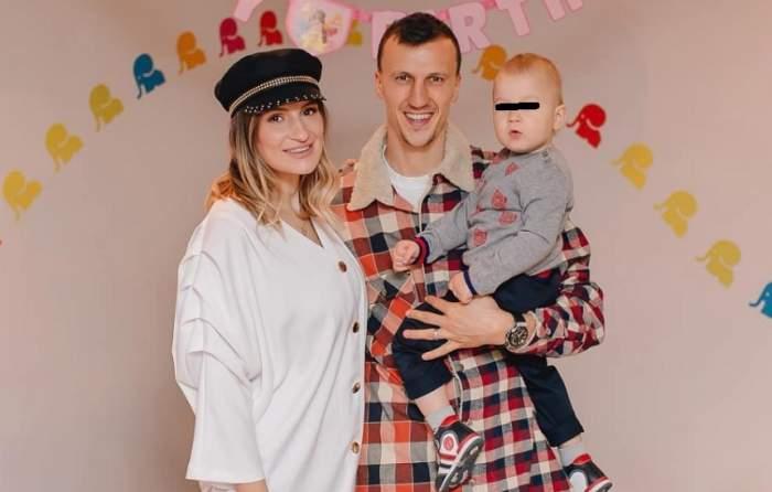 Vlad Chiricheş, tată pentru a doua oară! Soţia lui e însărcinată