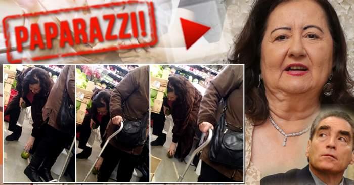 VIDEO PAPARAZZI  / Cât de grave sunt problemele de sănătate ale Mioarei Roman? Imagini cutremurătoare cu fosta nevastă a lui Petre Roman