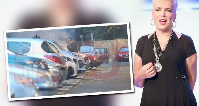 FOTO EXCLUSIV / Repetent la bunele maniere! Soţul Silviei Dumitrescu a comis-o în public! Imagini uluitoare surprinse de paparazzii Spynews.ro