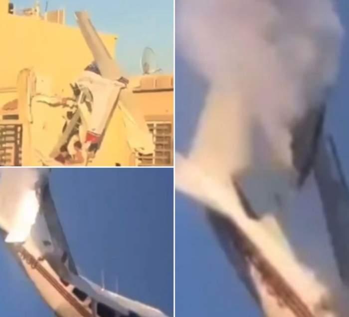 VIDEO / Un avion s-a prăbuşit peste o casă! Bilanţul tragediei