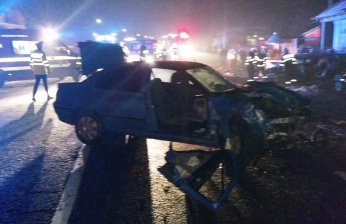 FOTO / Accident cumplit în Neamț! O persoană și-a pierdut viața, iar alte trei au fost rănite