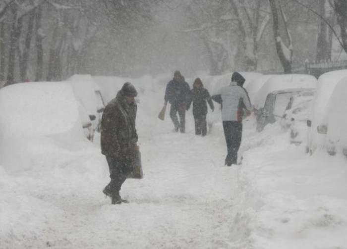 Anunţ de la ANM! Zăpezile se întorc săptămâna viitoare. Ce spun meteorologii despre lunile martie şi aprilie