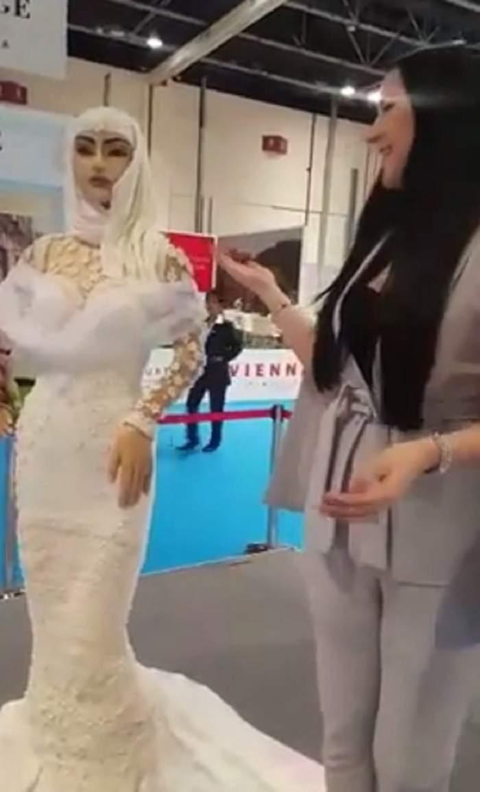 """VIDEO / Cum arată ultima """"fiță"""" în materie de torturi în Dubai! Costă un milion de dolari și este încrustat cu diamante si perle"""