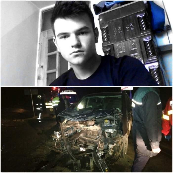 El este studentul mort în urma accidentului din Bistrița. Andrei Munteanu, 19 ani, era speranța familiei și a comunei Rodna