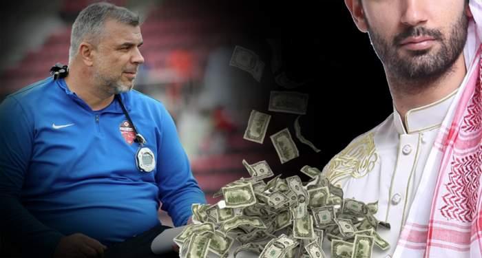 """Muntele de bani vine la Cosmin Olăroiu! Suma colosală cu care """"Prinţul Deşertului"""" este momit să revină în fotbalul arab!"""