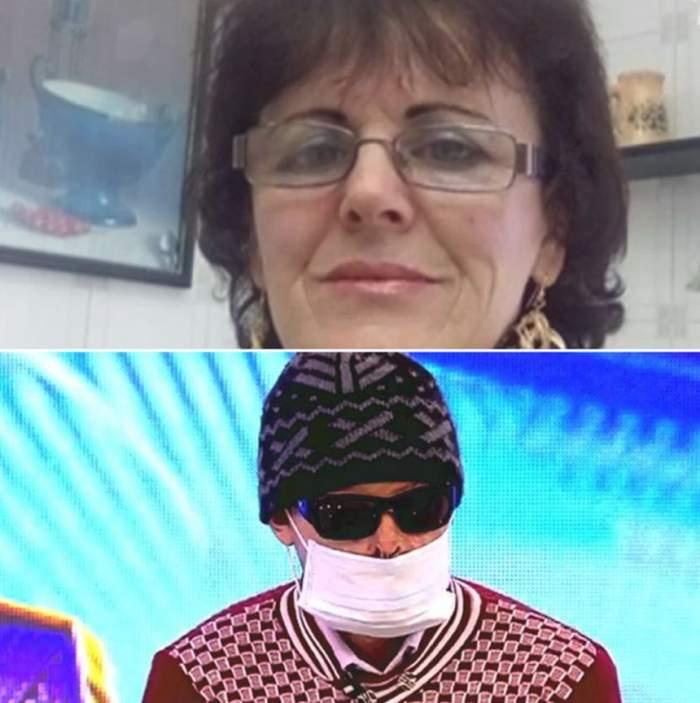 """VIDEO / Soţia piromană ripostează şi aduce acuzaţii şocante soţului mutilat. """"A vrut să-mi taie capul cu toporul"""""""