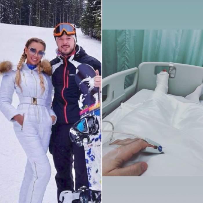 Victor Slav a fost operat în urma accidentului la schi. Cum se simte soţul Biancăi Drăguşanu