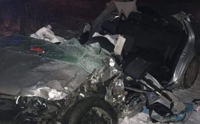 VIDEO  / UPDATE: Accident teribil, cu opt victime în Vaslui! A fost activat planul roşu de intervenţie, o persoană a murit