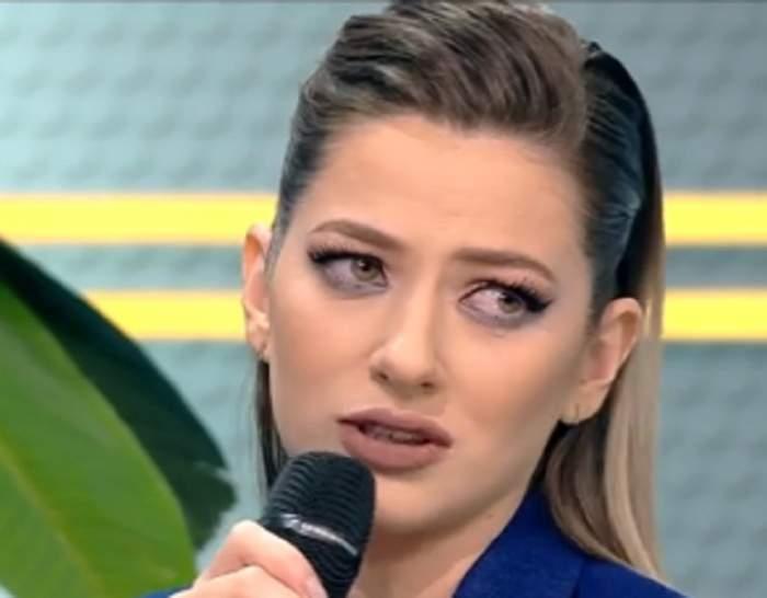 """VIDEO / Lidia Buble, în lacrimi la TV, în faţa lui Răzvan: """"Am ochii uscaţi de dor"""""""