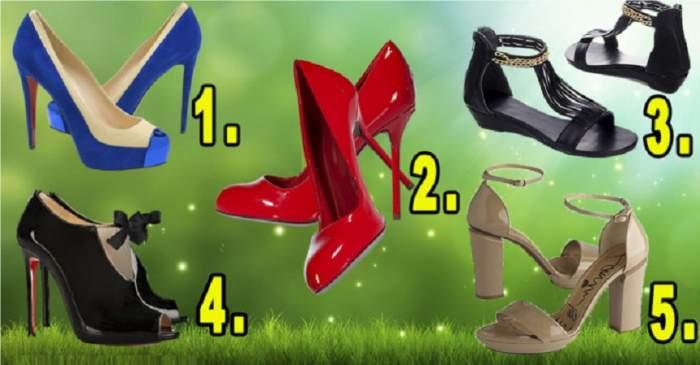 """FOTO / Testul feminităţii! Alege pantofii care îţi plac şi află ce """"fiară"""" se ascunde în tine"""