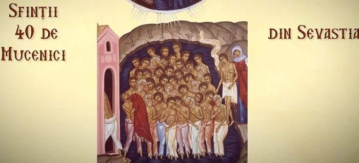 Sfinţii 40 de Mucenici, 9 martie. Ce tradiţii să respecţi ca să îţi meargă bine tot anul