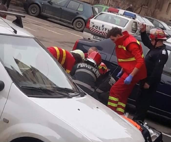 VIDEO / Sinucidere sau accident? Un băiat de 18 ani a murit, după ce a căzut de la etajul 11 al unui bloc din Cluj