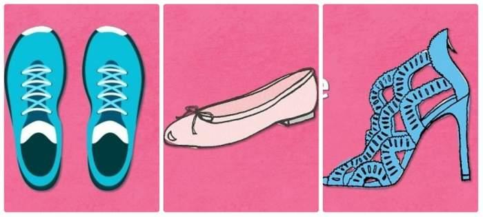 Alege-ţi perechea de pantofi favorită şi află ce spune despre tine!