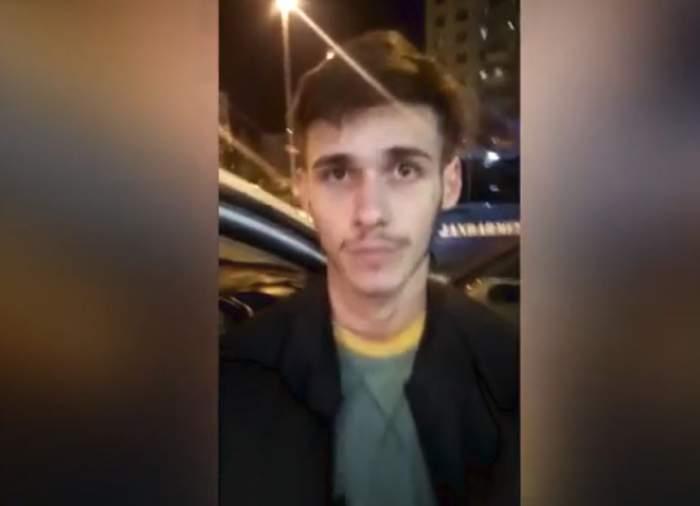 VIDEO / A fost prins şoferul maşinii din care a fost aruncat bărbatul de 28 de ani din Piteşti şi lăsat să moară în stradă