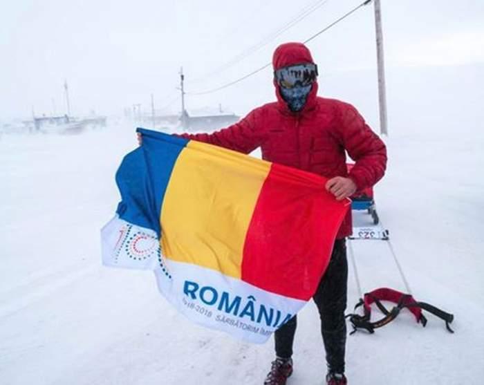 """VIDEO / Cum a fost aşteptat Tibi Uşeriu la finalul cursei ultramaratonului 6633 Arctic Ultra. """"Dacă aş zice că sunt bine, aş exagera"""""""