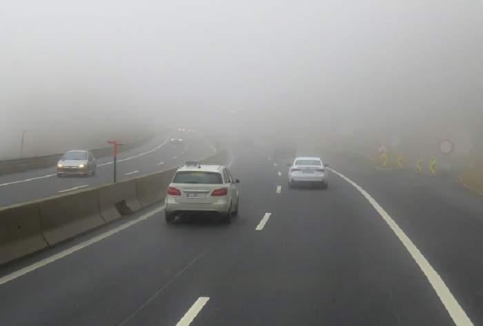 Trafic restricţionat din cauza poleiului! Autostrada Soarelui, închisă pe tronsonul București - Drajna