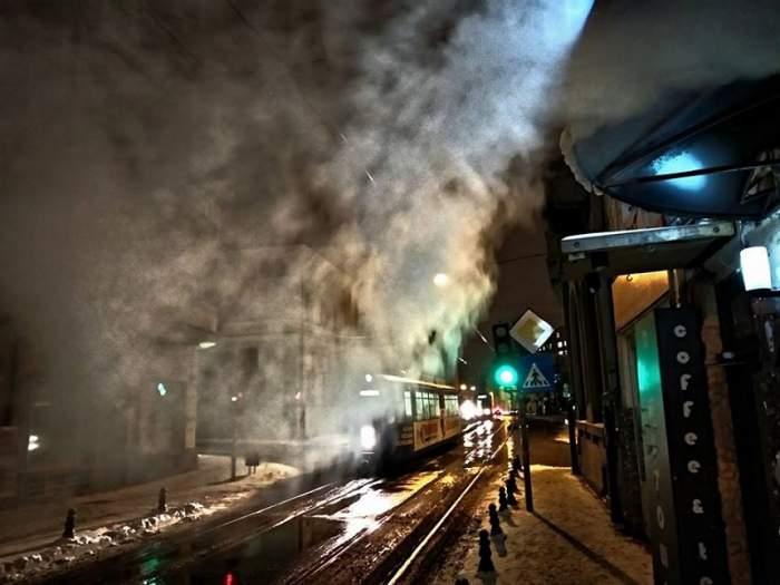 FOTO / Imagini spectaculoase cu ninsorile abundente şi fenomenele extreme din România
