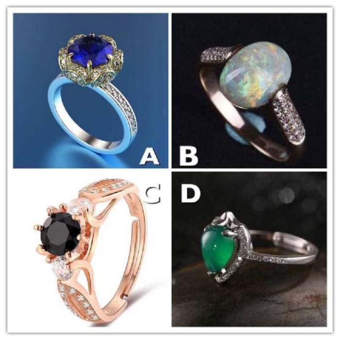 Alege un inel şi descoperă cine eşti cu adevărat!