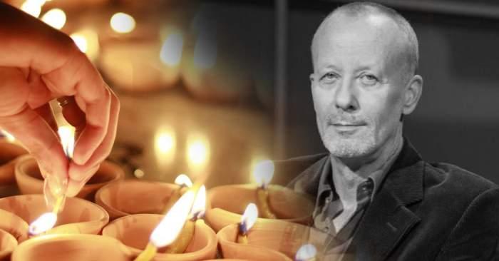 VIDEO / Ce se întâmplă acum în fața casei în care Andrei Gheorghe a fost găsit mort