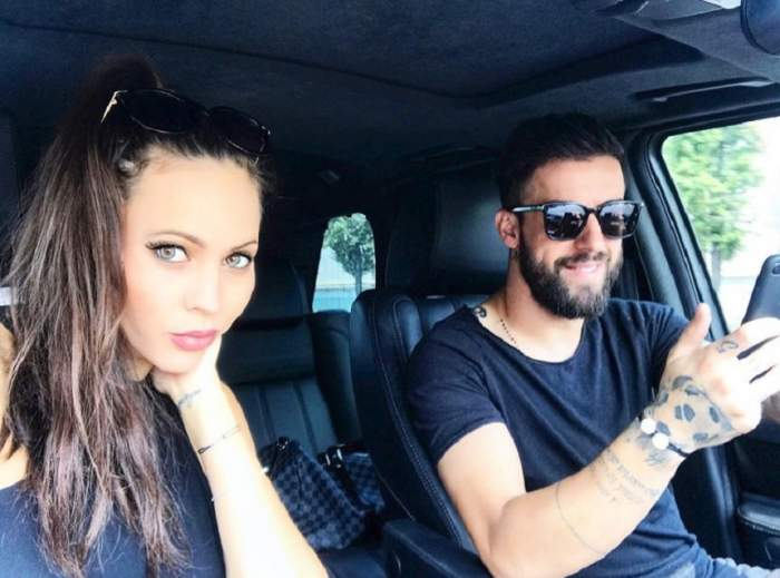 """VIDEO / Lena și Gabi Enache, fotografiați în intimitate. Fotbalistul își răsfață soția ca pe o prințesă. """"Am fugit departe de lume"""""""