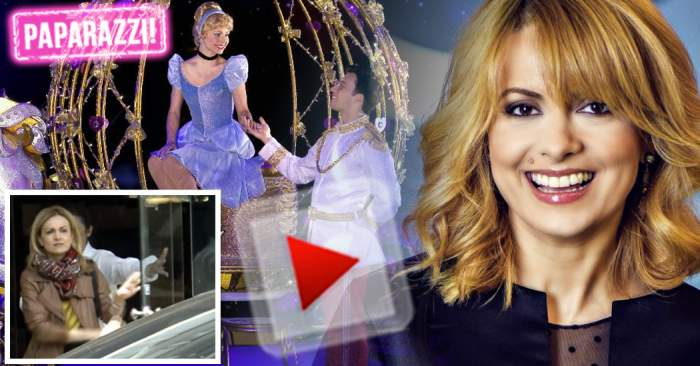 VIDEO PAPARAZZI / Mai ceva ca o prinţesă! Iată cum se răsfaţă Simona Gherghe când are puțin timp liber
