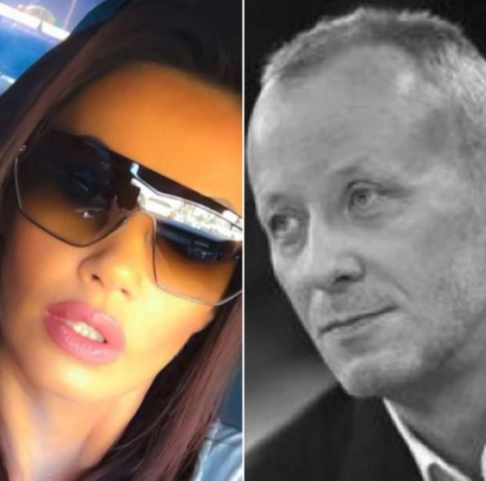 """Oana Zăvoranu a reacţionat după moartea lui Andrei Gheorghe. """"Îi simțeam privirea și zâmbetul malefic în ceafă"""""""