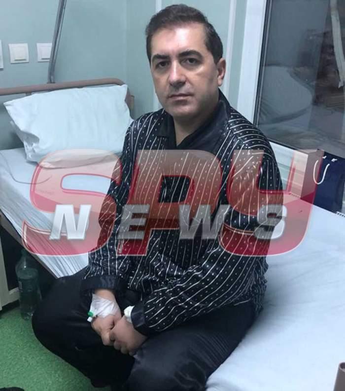 FOTO / Primele imagini cu Daniel Ionaşcu, după ce medicii au decis să amâne externarea. Cum arată avocatul