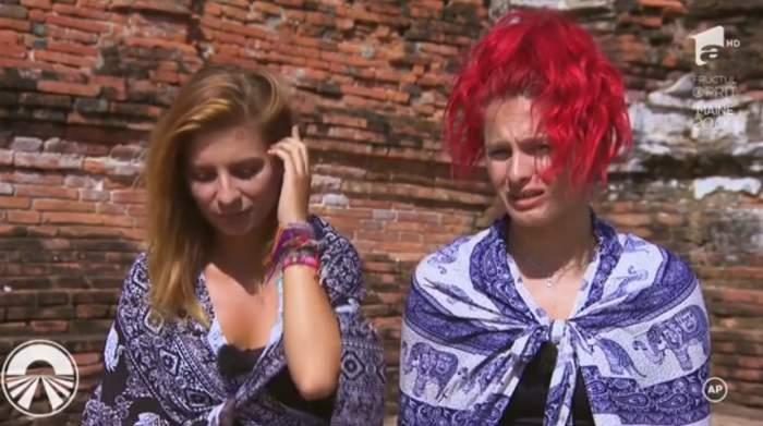 """VIDEO / Raluka și Ana Baniciu, schimb de replici dure la Asia Express. """"Deja chiar mă enervezi"""""""