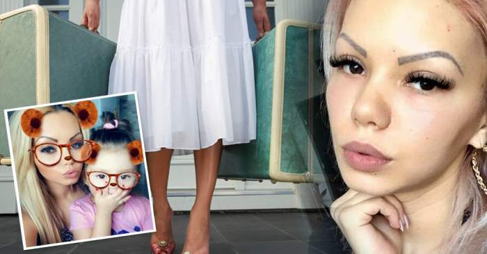 """""""Beyonce de România"""", umilită şi aruncată în stradă, cu fetiţa în braţe!"""