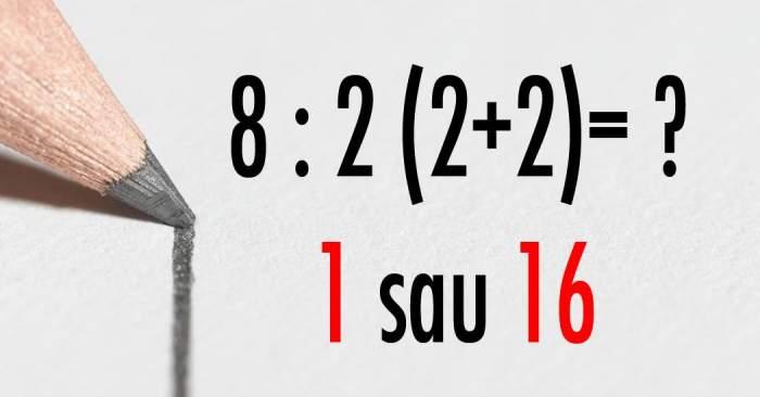 Ecuaţia care dă mari bătăi de cap oamenilor! Ştii să o rezolvi?