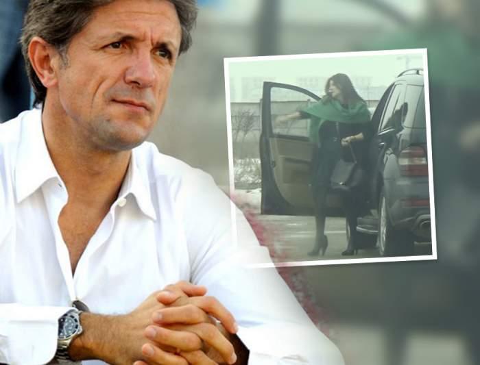 VIDEO PAPARAZZI / Imagini uluitoare cu soţia lui Gică Popescu! Luminiţa, pusă într-o situaţie jenantă la propria firmă