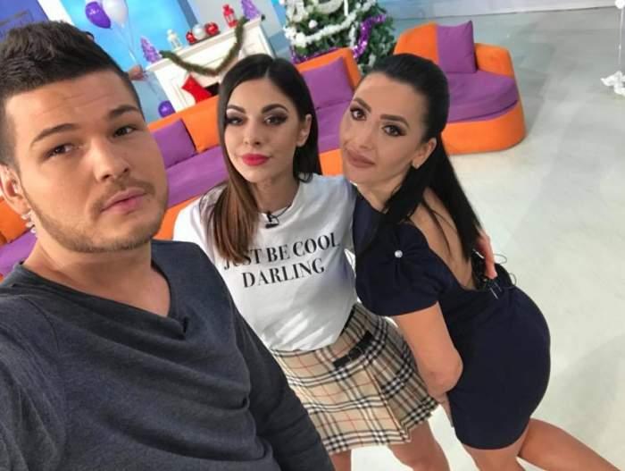 VIDEO / Natalia, Răzvan şi Raluca, emoţii mari! Matinalii au cântat live pentru toate mamele, de 8 martie
