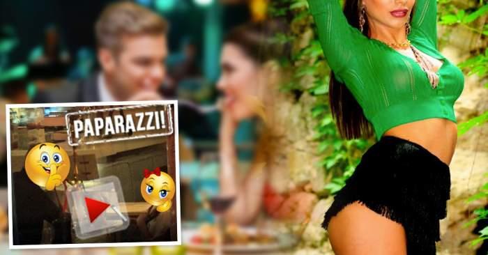 """VIDEO PAPARAZZI / Prima apariţie publică a """"Bunesei"""" din Urlaţi după bătaia din Herăstrău! S-a """"refăcut"""" alături de un bărbat celebru!"""