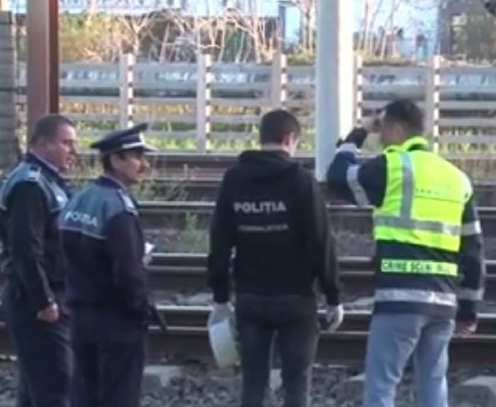VIDEO / Și-a luat viața?! Un bărbat din Ploiești a fost călcat de tren