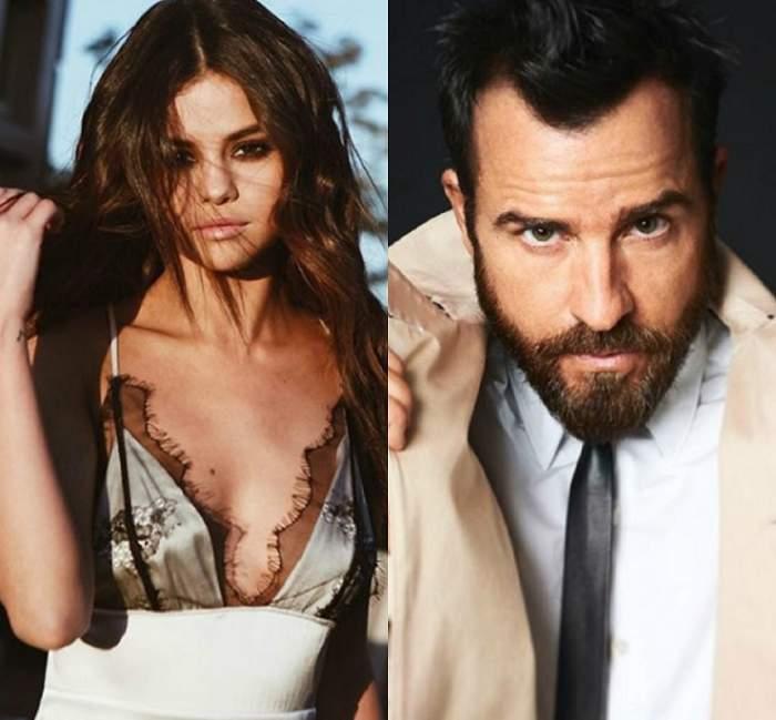 A uitat de Jennifer Aniston! Selena Gomez și Justin Theroux, cel mai nou cuplu de la Hollywood?