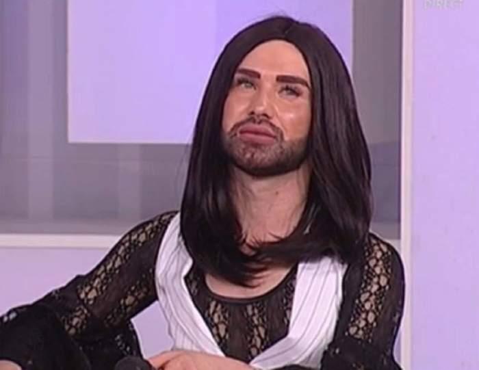 """VIDEO / Conchita de România are o relaţie de dragoste!? """"Vine un iubitdin Dubai"""""""
